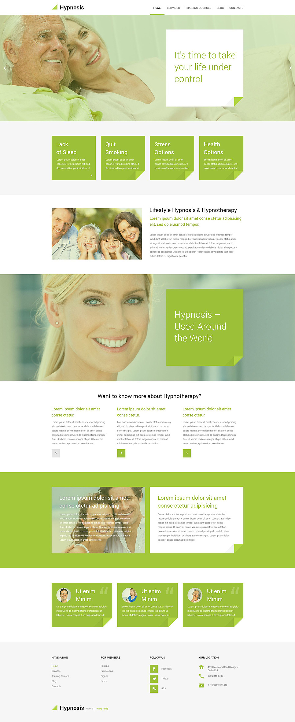 Hypnosis PSD Template New Screenshots BIG