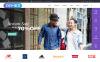 Joomla шаблон №55955 на тему персональная страница New Screenshots BIG