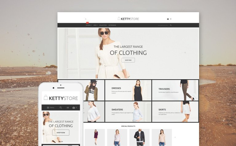 KettyStore Magento Theme New Screenshots BIG