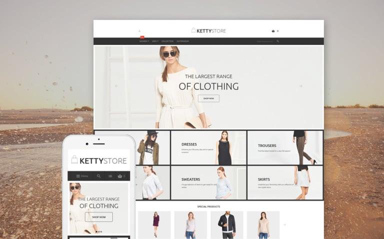 KettyStore Magento Theme New Screenshots BIG