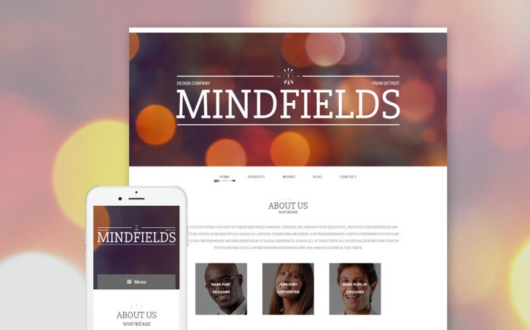 Mind Fields WordPress Theme New Screenshots BIG