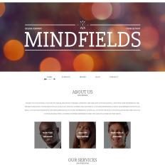 mind fields parallax wordpress template