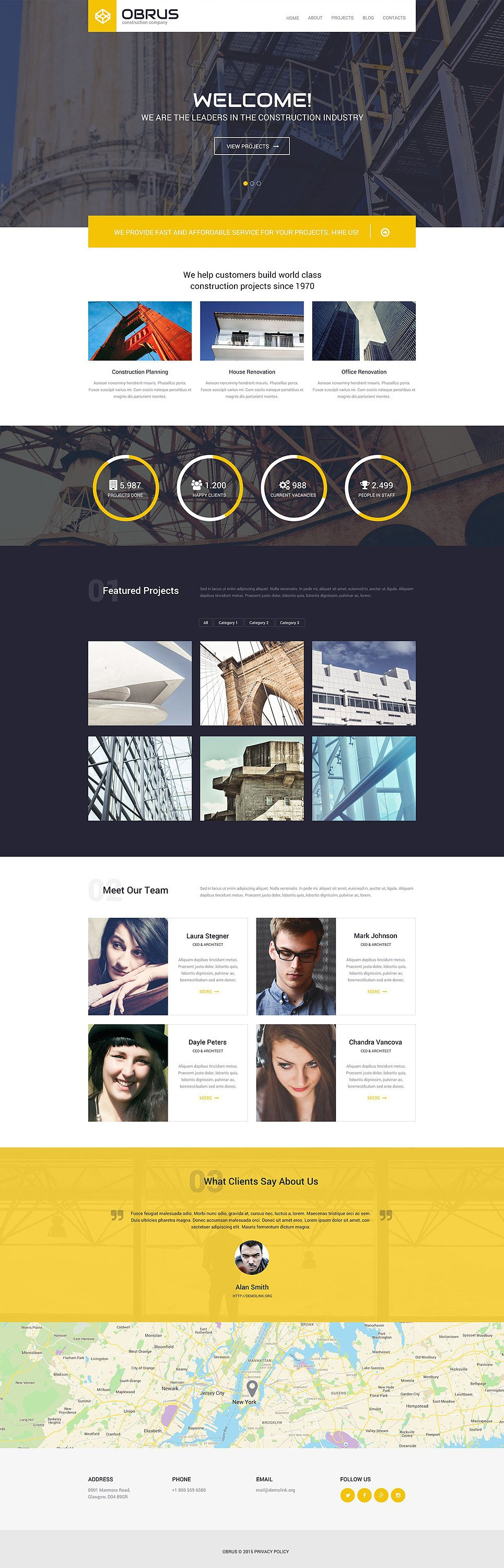 Obrus PSD Template New Screenshots BIG
