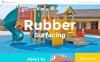Responsive Website template over Vloerbedekking  New Screenshots BIG