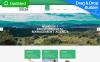 Responzivní Moto CMS 3 šablona na téma Environmentální New Screenshots BIG