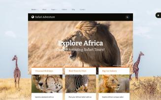 Safari Adventure Joomla Template