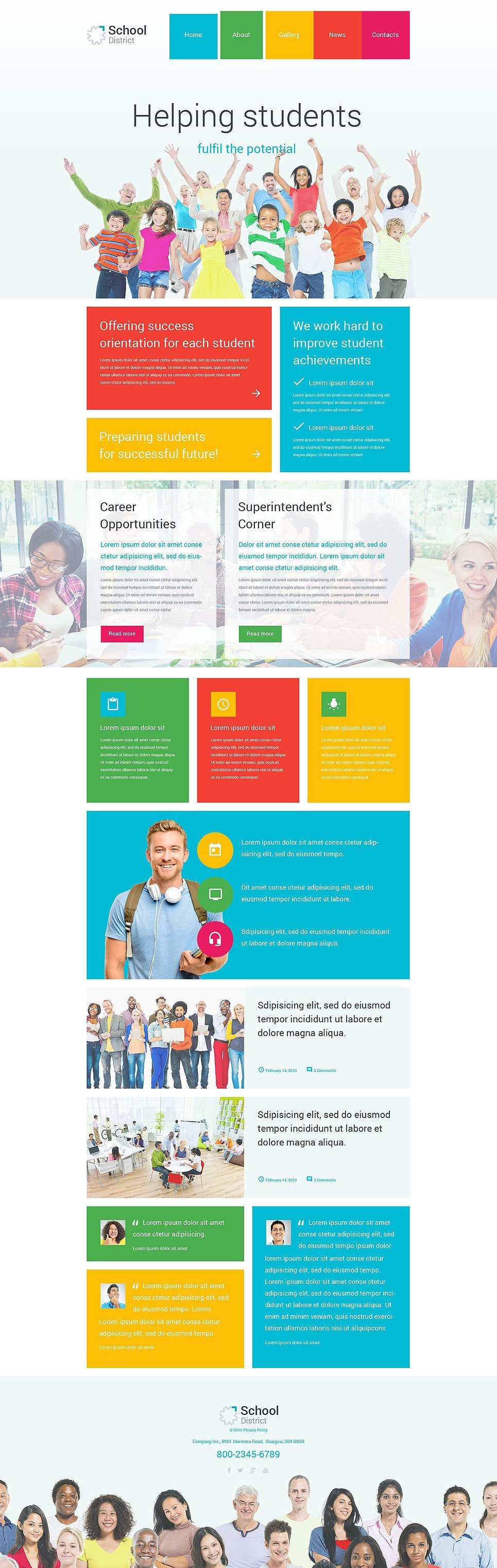 School District PSD Template New Screenshots BIG