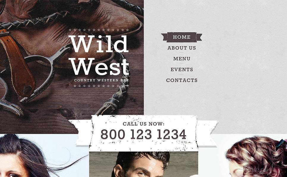 Template Web Flexível para Sites de Cafeteria e Restaurante №55949 New Screenshots BIG