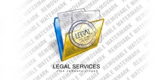 Law Firm Logo Template vlogo