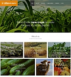 Agriculture Moto CMS 3  Template 56002