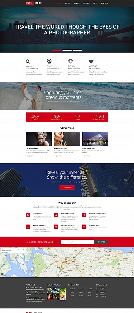 ADOBE Photoshop Template 56004 Home Page Screenshot