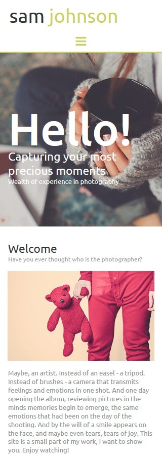 ADOBE Photoshop Template 56006 Home Page Screenshot