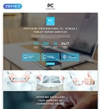 Computers Landing Page  Template 56014