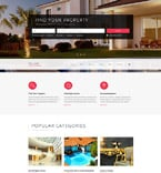 Real Estate Website  Template 56016