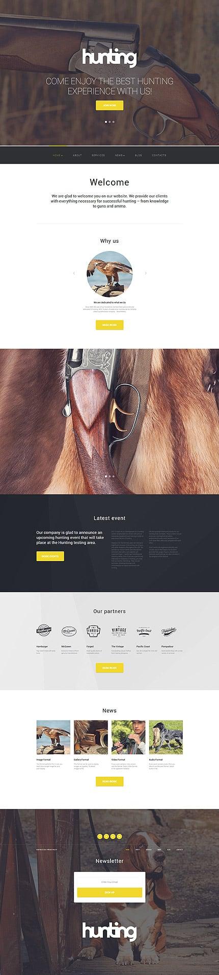 WordPress Theme/Template 56020 Main Page Screenshot
