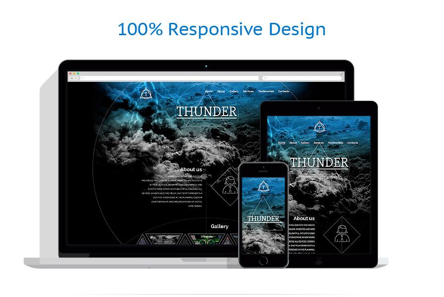Modèles HTML5 Web design #56023