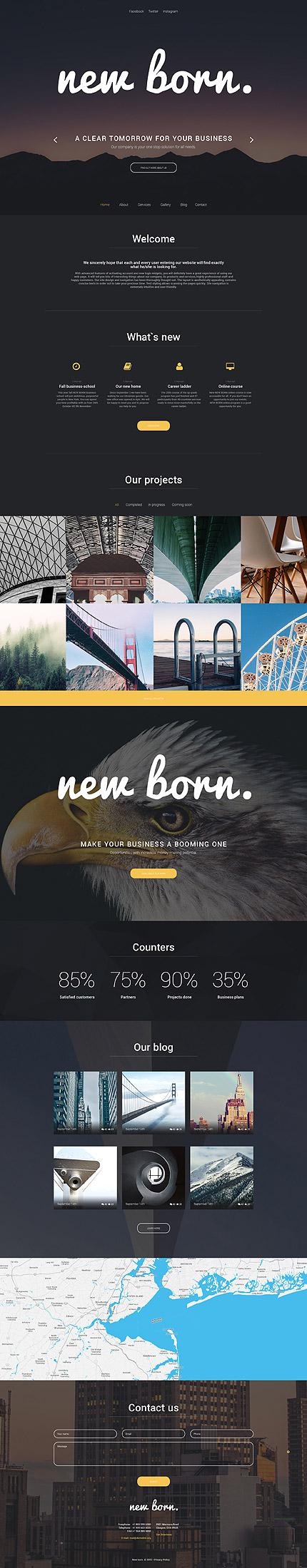 WordPress Theme/Template 56024 Main Page Screenshot