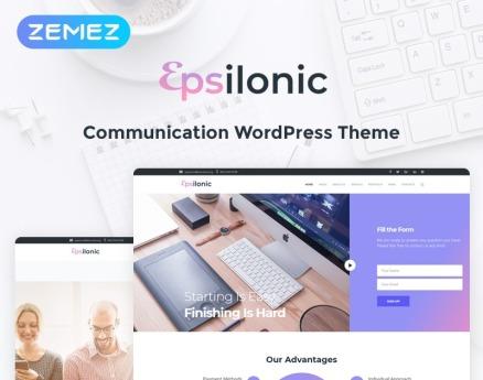Communication WordPress Theme
