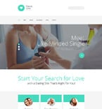 Dating Website  Template 56026