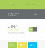 Entertainment Website  Template 56027