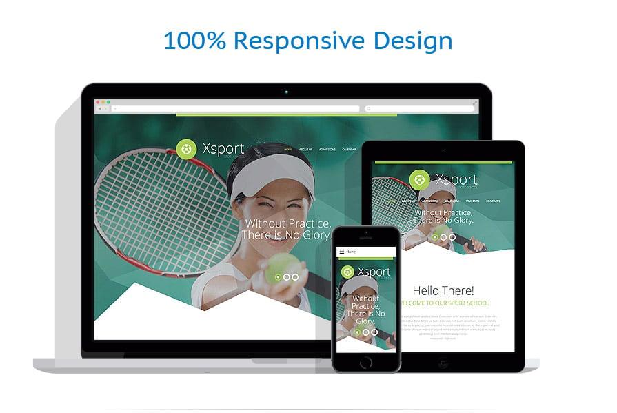 Modèles HTML5 Sport #56029