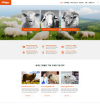 Agriculture Website  Template 56031