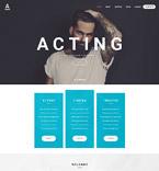 Art & Photography Website  Template 56036