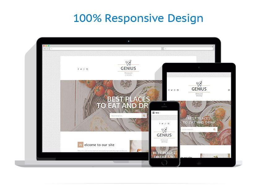 Modèles HTML5 Café et Restaurant #56041