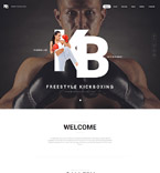 Sport Website  Template 56042