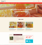 Food & Drink Website  Template 56044