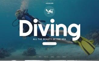 Scuba Diving Website Template