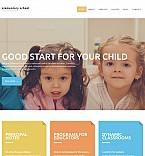 Education Moto CMS 3  Template 56047