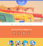 Entertainment Website  Template 56067