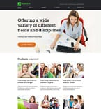 Education Website  Template 56068