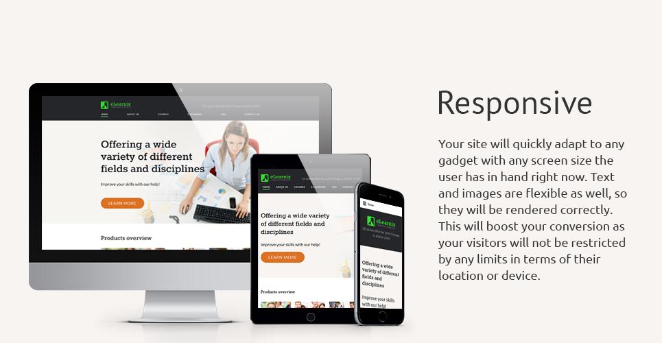 eLearnix Website Template