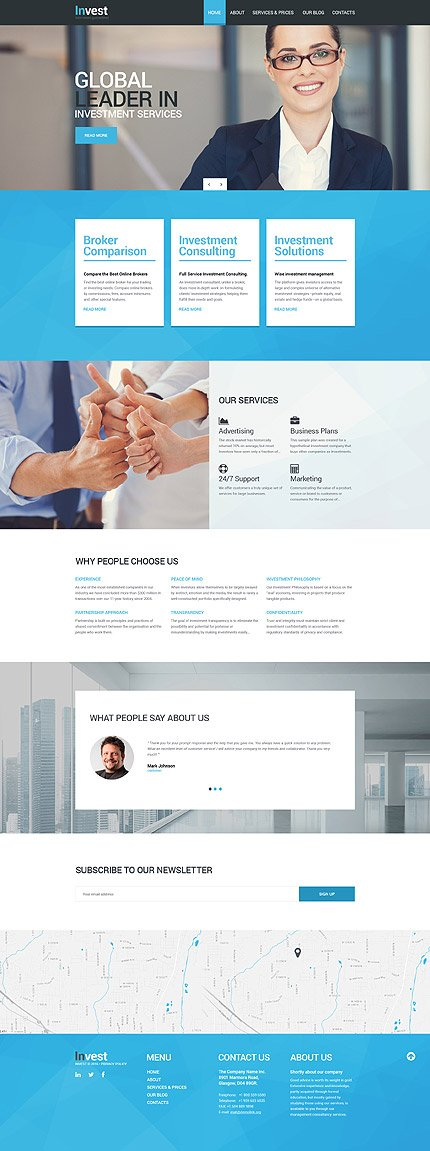 Drupal Template 56069 Main Page Screenshot