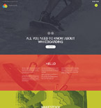 Sport Website  Template 56072