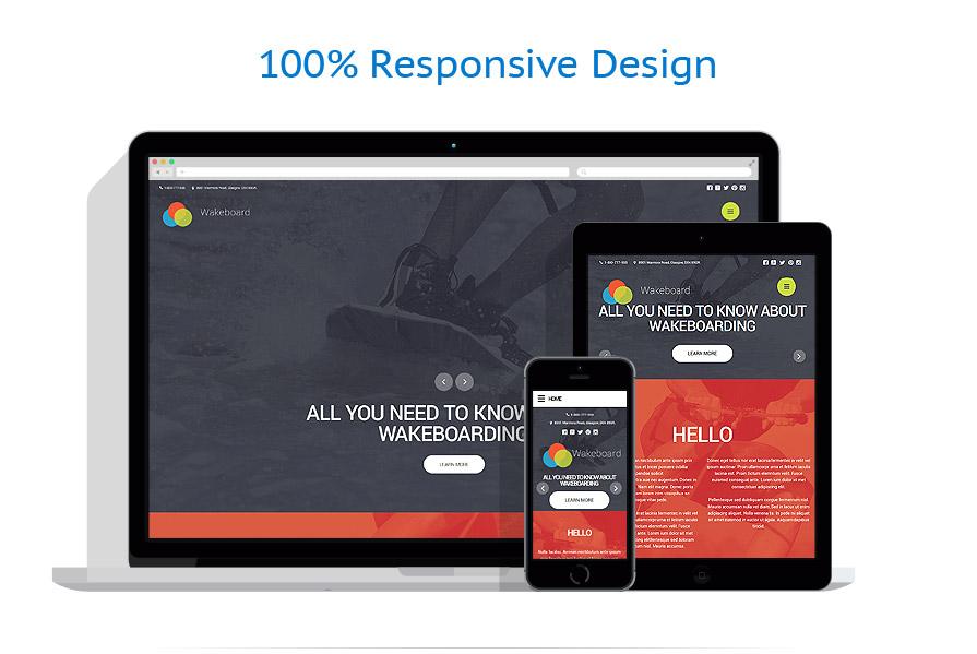 Modèles HTML5 Sport #56072