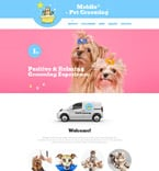 Animals & Pets Website  Template 56074