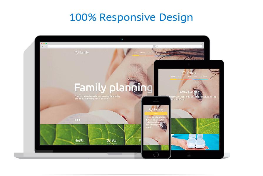 Thèmes WordPress Famille #56090