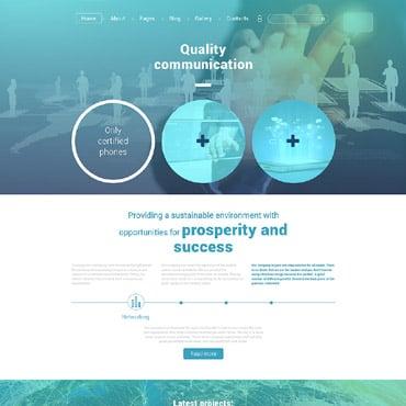 Купить  пофессиональные Joomla шаблоны. Купить шаблон #56091 и создать сайт.