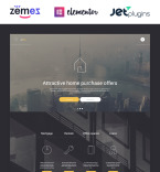 Real Estate WordPress Template 56093