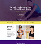 Sport Website  Template 56094