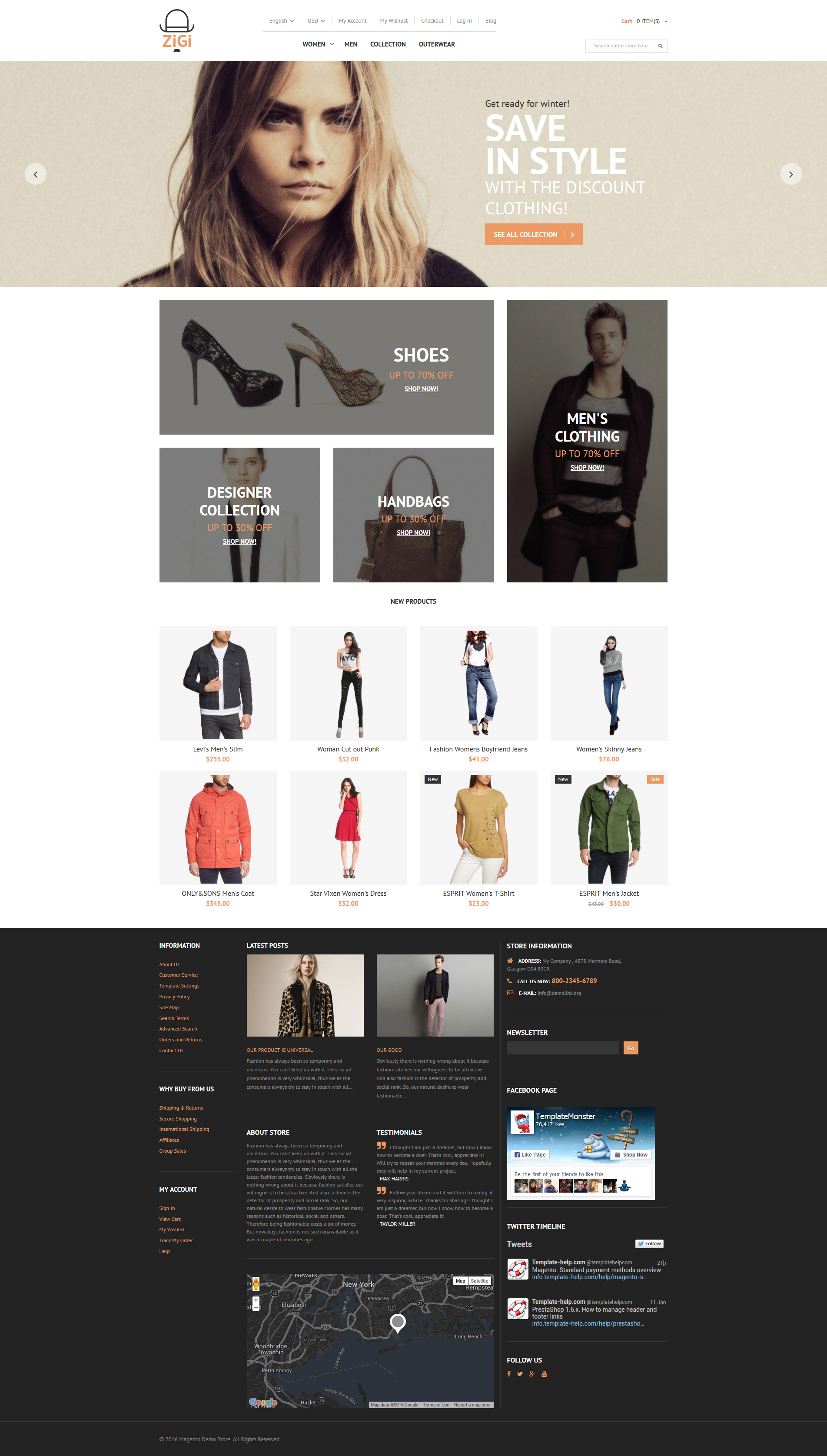 Apparel Responsive Magento Theme #56098 Facebook Like Button Psd
