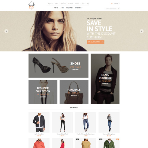 Zigi - Magento Template based on Bootstrap