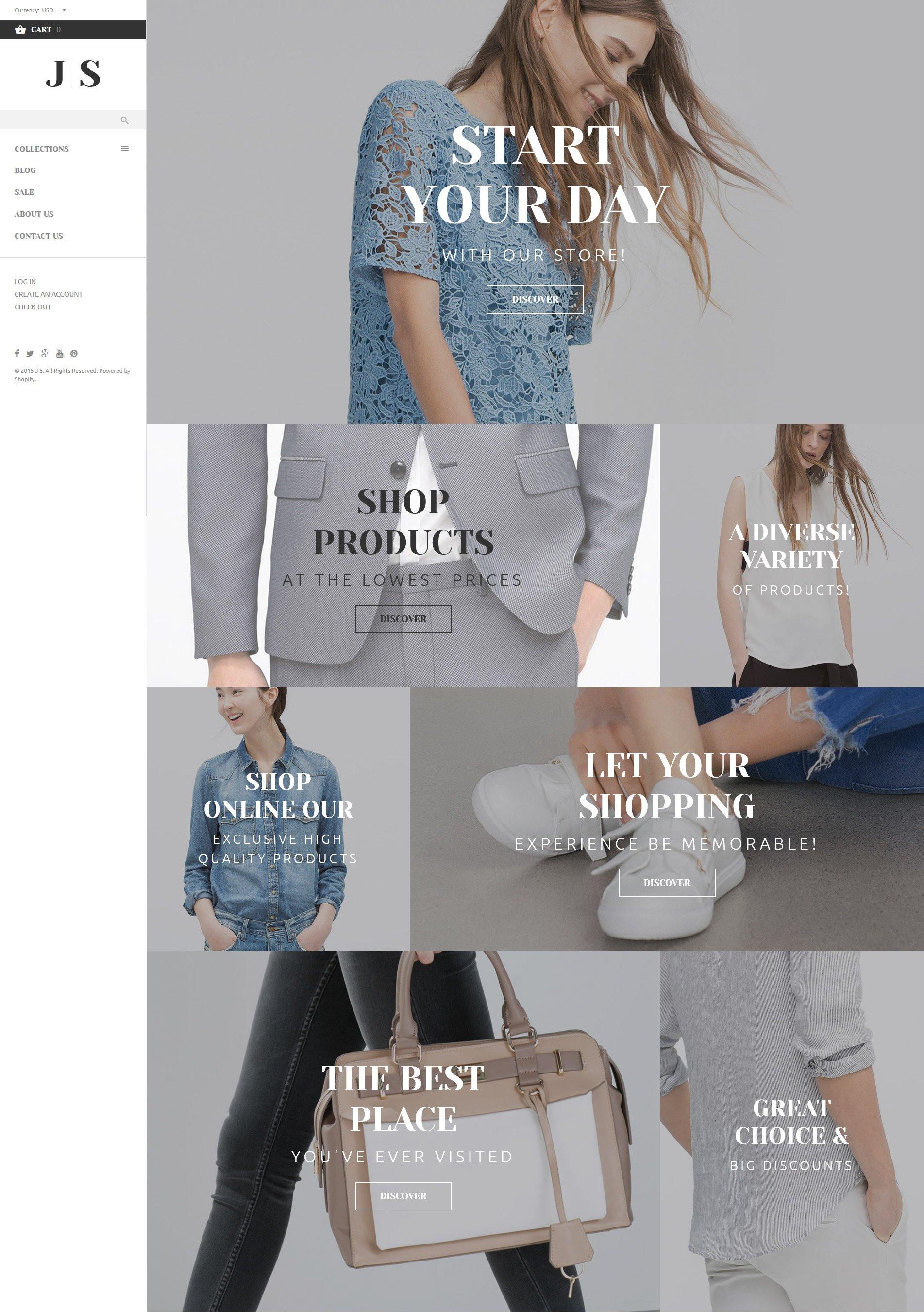 Apparel Responsive Shopify Theme