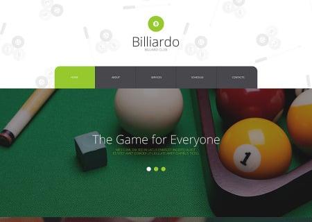 Billiards Responsive