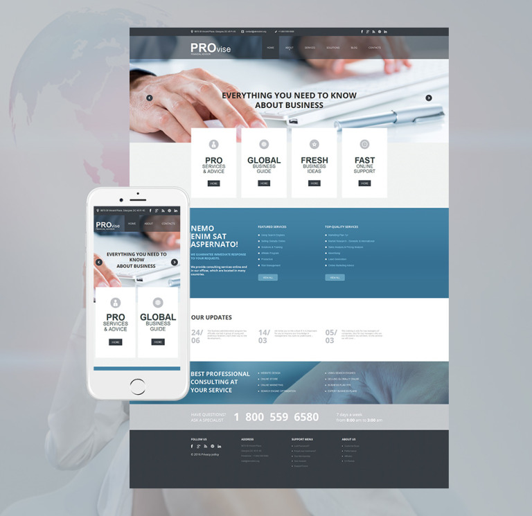 Financial Advisor Moto CMS HTML Template New Screenshots BIG