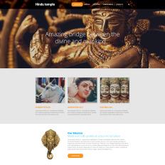 hinduism website templates templatemonster