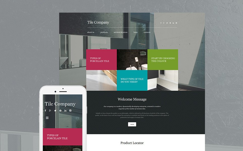 Interior Design Website Builder Responsive Moto Cms 3 Template 56049